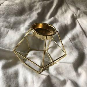UO Gold tea light holder